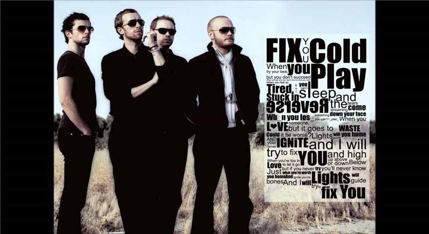 ترجمه و دانلود آهنگ Coldplay - Fix You
