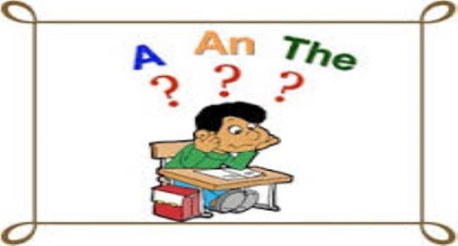 آموزش زبان انگلیسی: حروف تعریف معرفه و نکره در انگلیسی